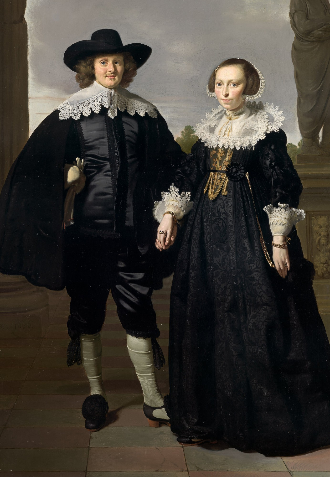 Frederick Van Velthuysen And His Wife Josina. Thomas de Keyser.