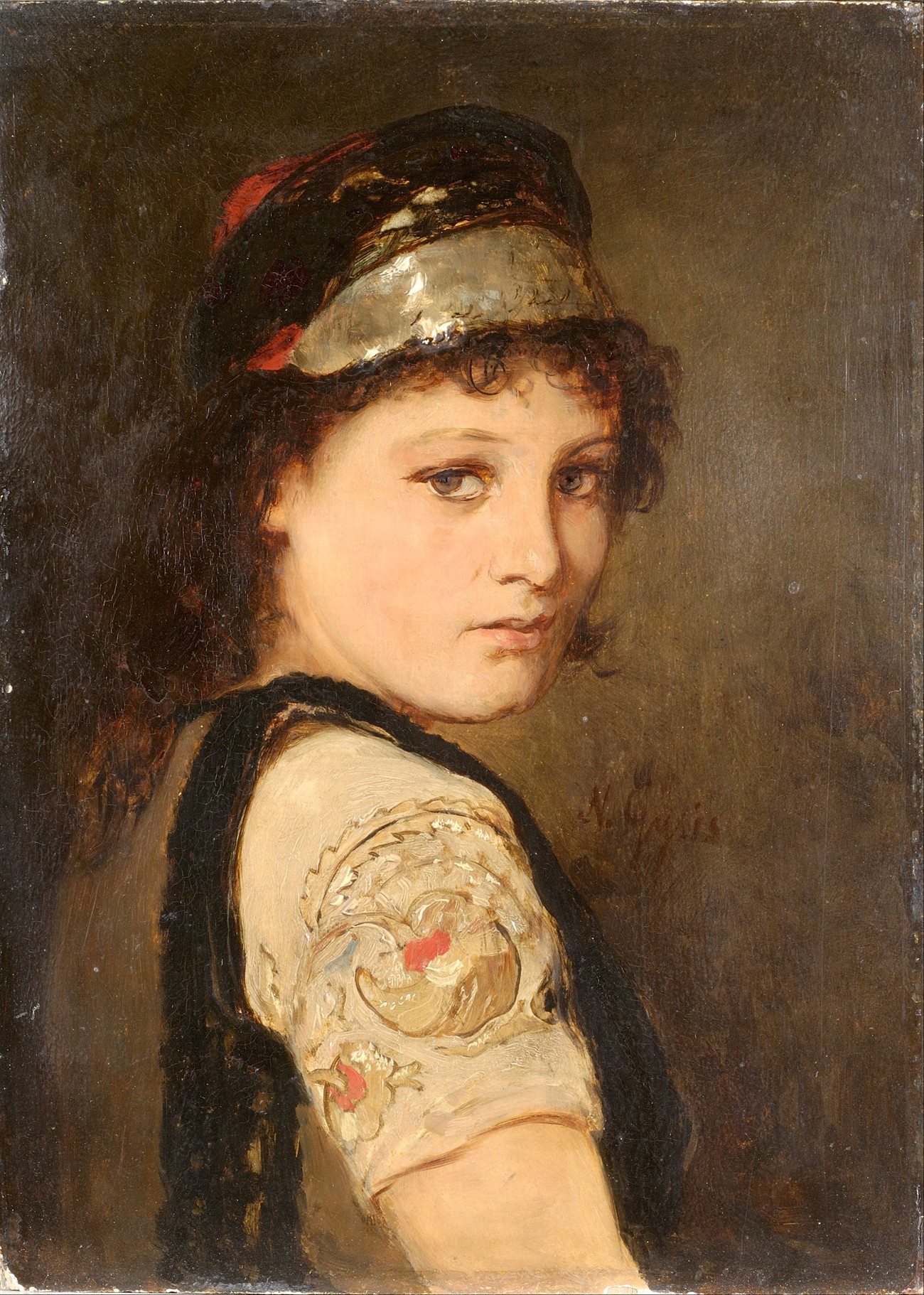 Gyzis Nikolaos. Girl from Megara